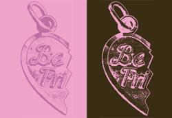 BFF pink