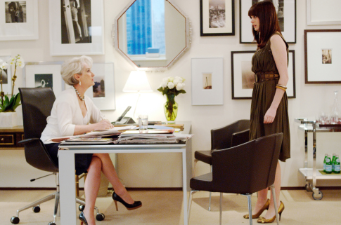 I Want This Wardrobe: Anne Hathaway in The Devil Wears Prada ...