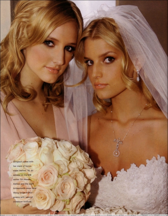 Jessica Simpson's Wedding Hair | POPSUGAR Love & Sex