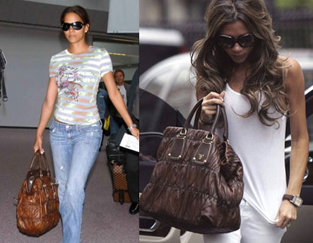 prada bags cheap - It Bag Obsession - Prada Gauffre | POPSUGAR Fashion